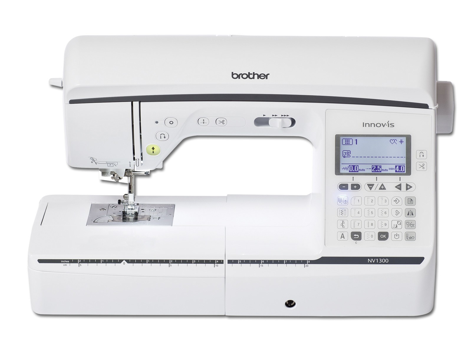QKF2UK Brother Creative Quilting Kit for NV1100 NV1300 Sewing Machines