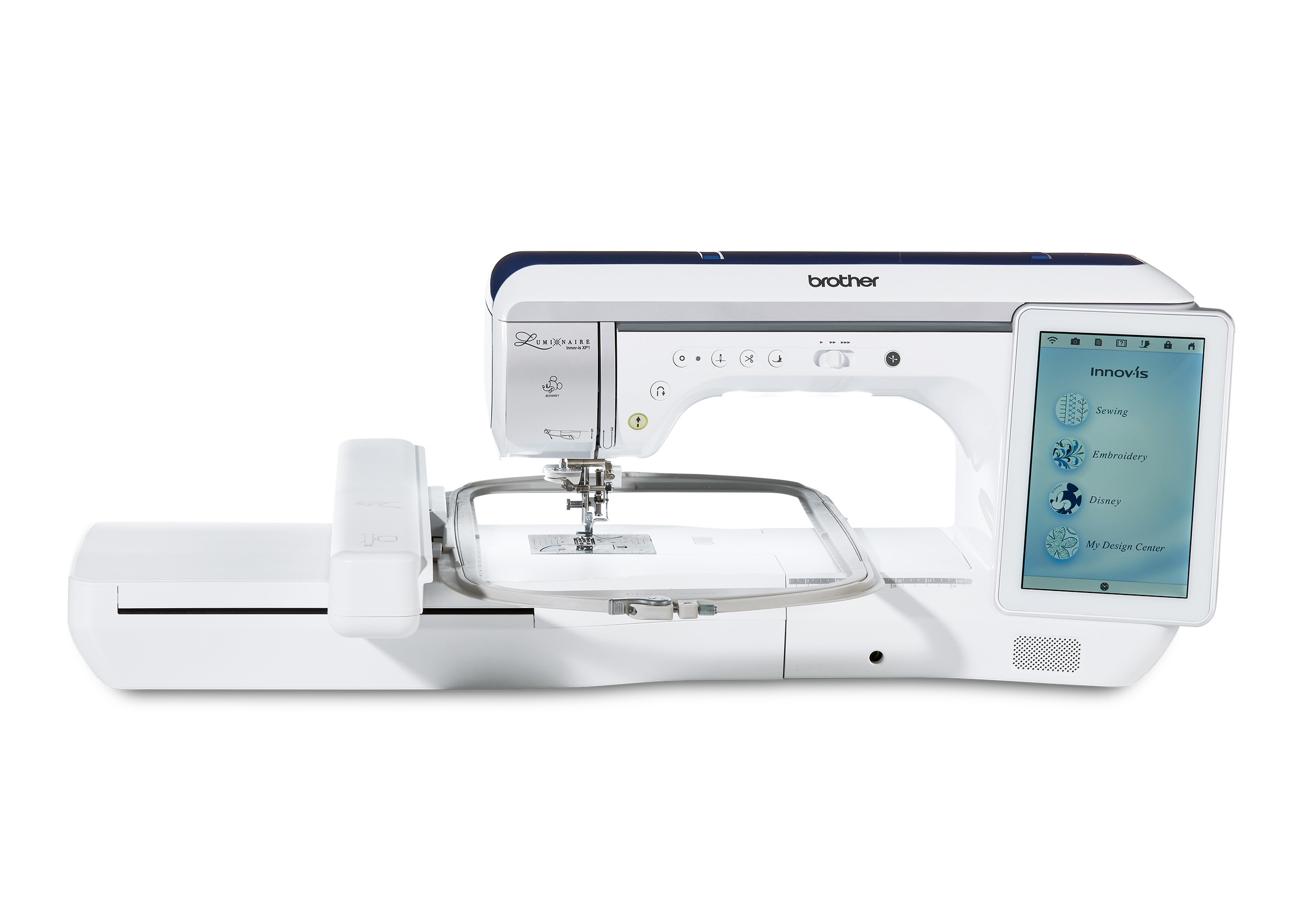 BROTHER LUMINAIRE XP1 SEWING & EMBROIDERY MACHINE | Sewing Machines Direct