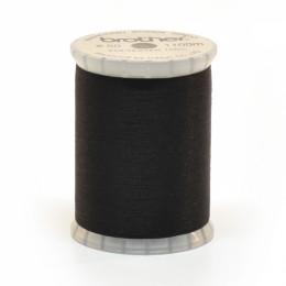 Black Bobbin Thread 1100m #60