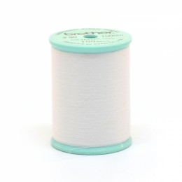 White Bobbin Thread 1000m #90