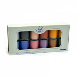 12 Satin Embroidery Thread Set
