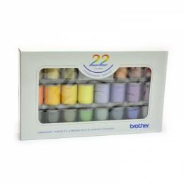 22 Satin Embroidery Thread Set