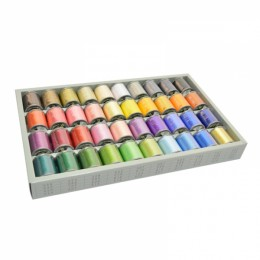 40 Satin Embroidery Thread Set