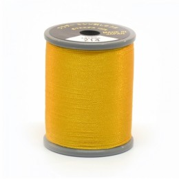 Embroidery Thread Deep Gold 214