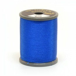 Embroidery Thread Electric Blue 420