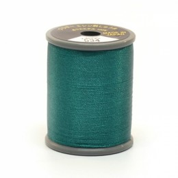 Embroidery Thread Teal Green 534