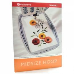 """Midsize Hoop 6.75"""" x 4"""" (170 x 100mm) 412665501"""