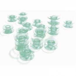 Plastic Green Bobbins 10 pk 413182545