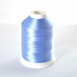 Simthread 017 Light Blue Embroidery Thread 1000m