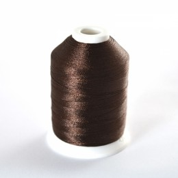 Simthread 058 Dark Brown Embroidery Thread 1000m - SORRY, OUT OF STOCK