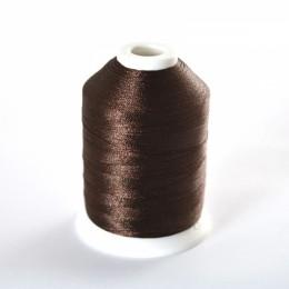 Simthread 058 Dark Brown Embroidery Thread 1000m