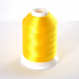 Simthread 205 Yellow Embroidery Thread 1000m