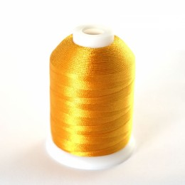 Simthread 214 Deep Gold Embroidery Thread 1000m