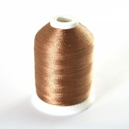 Simthread 323 Light Brown Embroidery Thread 1000m