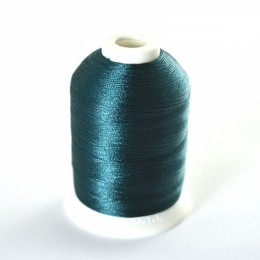 Simthread 415 Peacock Blue Embroidery Thread 1000m