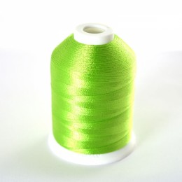 Simthread 513 Lime Green Embroidery Thread 1000m