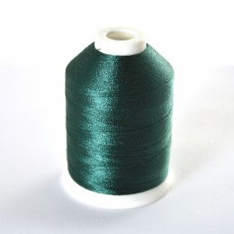 Simthread 808 Deep Green Embroidery Thread 1000m