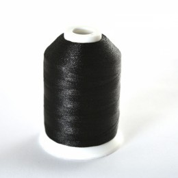 Simthread 900 Black Embroidery Thread 1000m