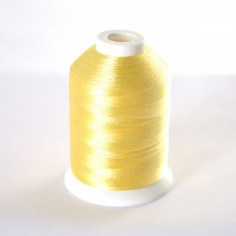 Simthread S021 Pale Yellow Embroidery Thread 1000m