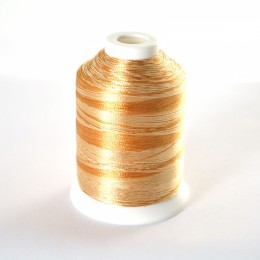 Simthread S117 Variegated Emb Thread 1000m Gold Damask