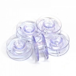 Plastic Bobbins 11.5mm Pack of 5 (bobplas11.5)