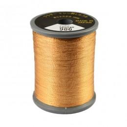 Embroidery Metallic Thread Copper 986