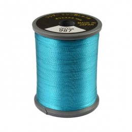 Embroidery Metallic Thread Light Blue 987