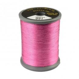 Embroidery Metallic Thread Dark Pink 991