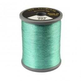 Embroidery Metallic Thread Dark Mint 992