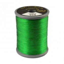 Embroidery Metallic Thread Green 994