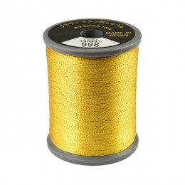 Embroidery Metallic Thread Gold 998