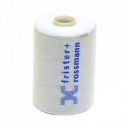 100% Polyester Sewing Thread White