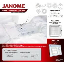 Acufil Quilting Kit (ASQ18b Hoop) for MC400e / MC500e 864402008